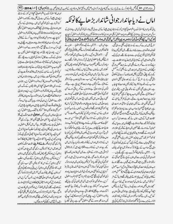 page 45 ubqari january 2014