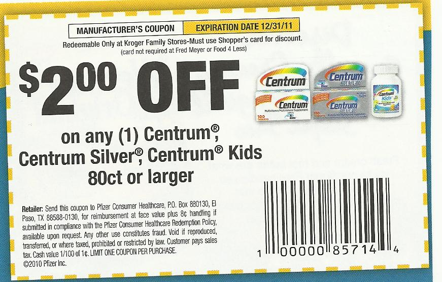 Kroger double coupons policy 2018