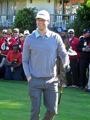 Actor Josh Duhamel at the AT&T Pebble Beach National Pro-Am Golf Tournament