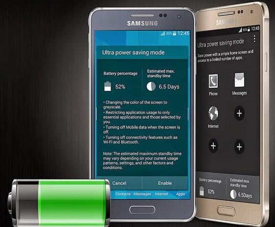 Samsung Galaxy Alpha Android Phone Harga Rp 5 Jutaan