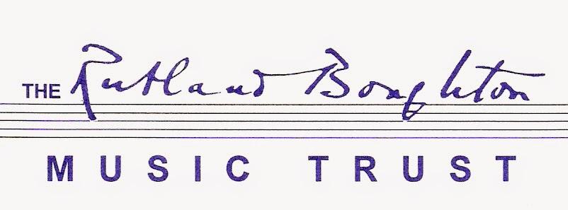 Organised through The Rutland Boughton Music Trust