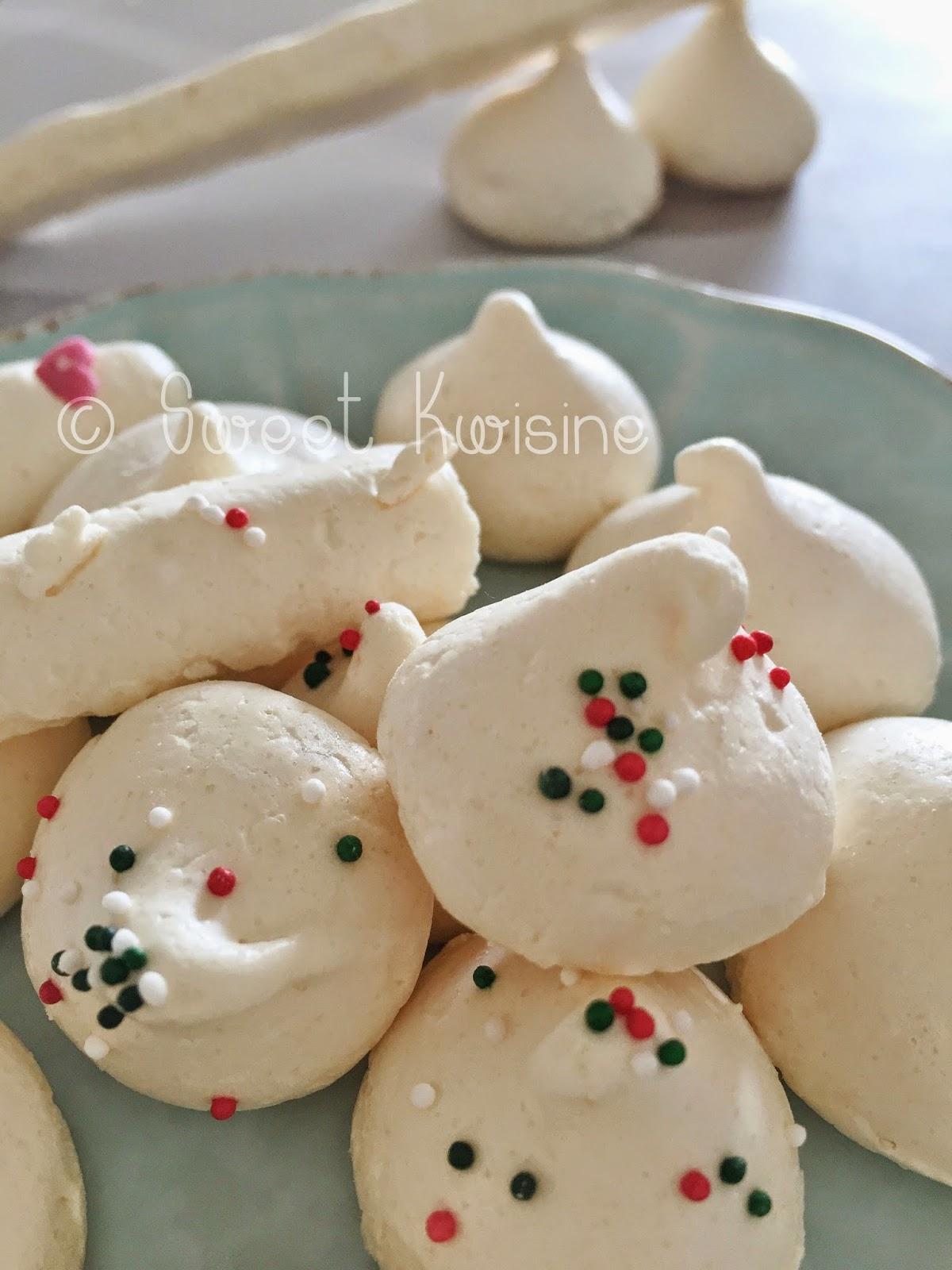 sweet kwisine, meringue, oeuf, blanc d'oeuf, sucre, noel,