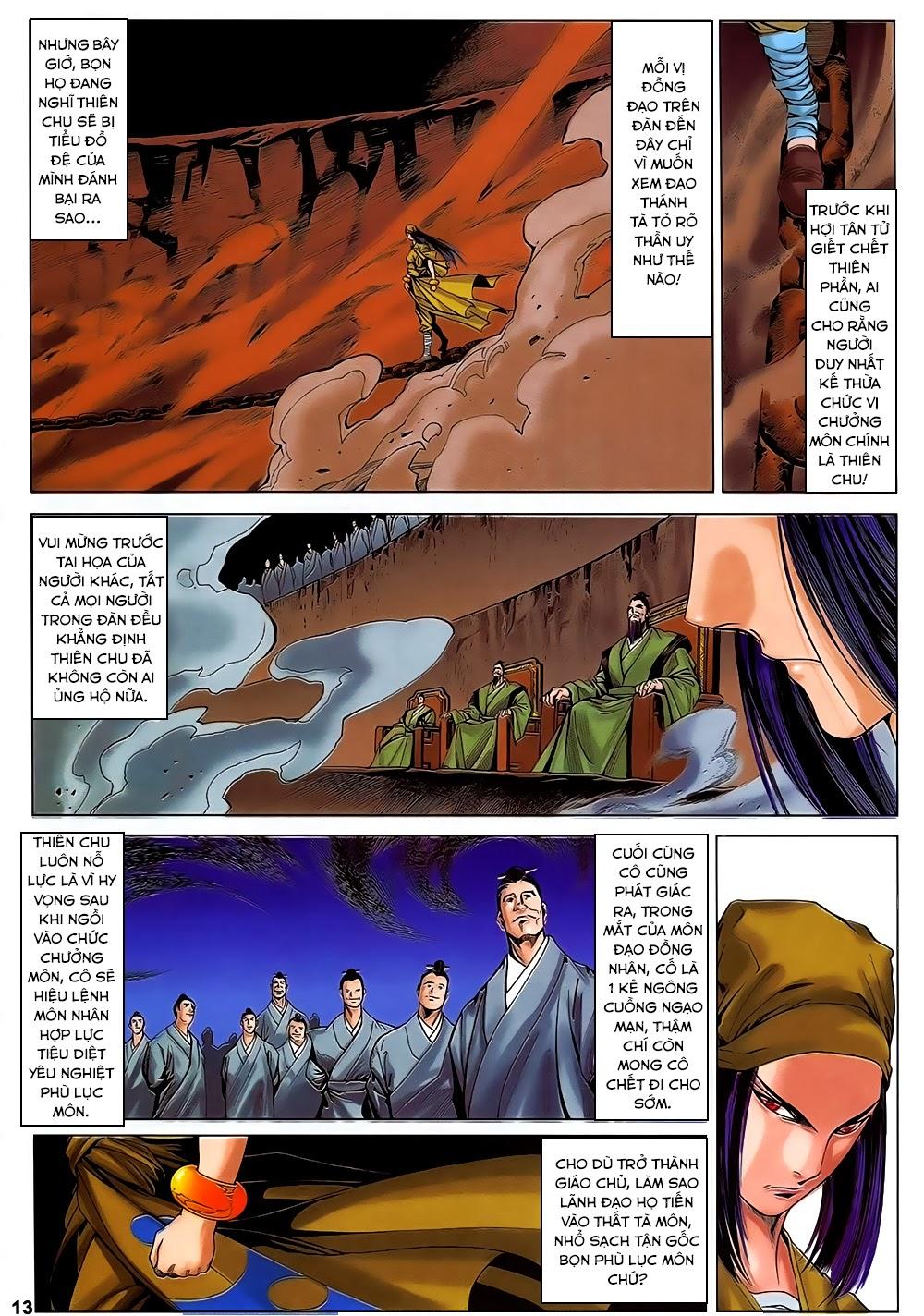 Lục Đạo Thiên Thư chap 31 - Trang 13