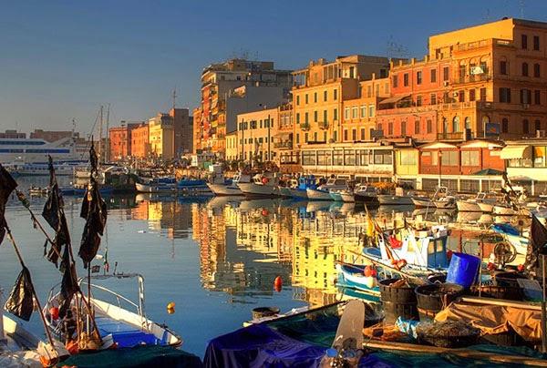 Итальянский город Анцио