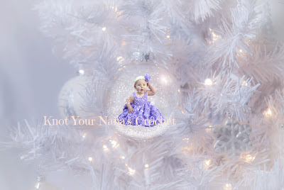 Dreamy Babies White Christmas Ornament