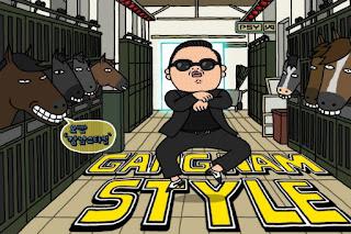 Gangnam Style, Psy, Tarian Gaya Kuda