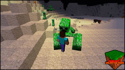 Mutant Creatures Mod creeper