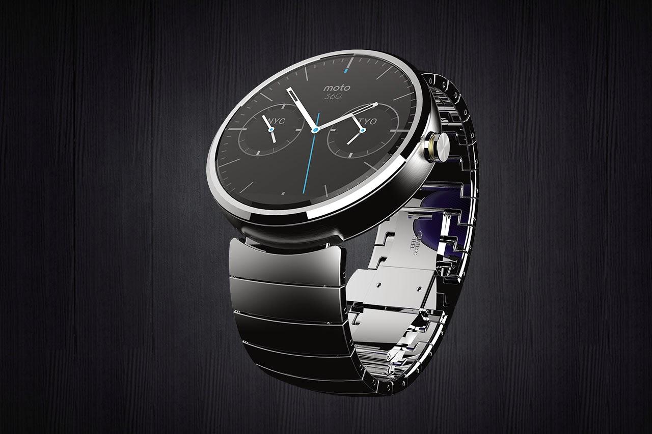 Moto 360 Watch Steel band