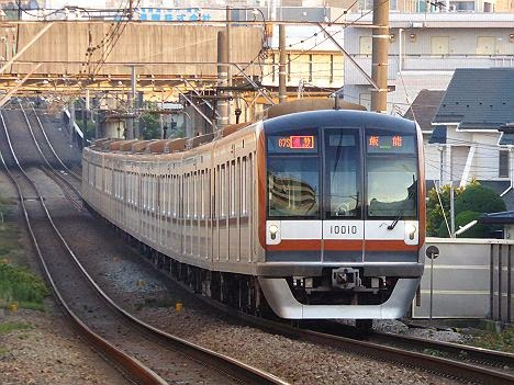 東急東横線 通勤特急 飯能行き 10000系