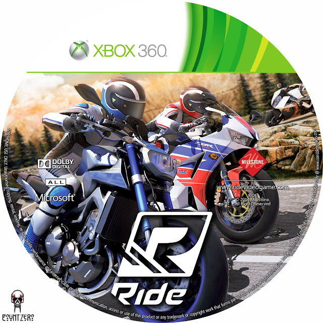 Label Ride Xbox 360