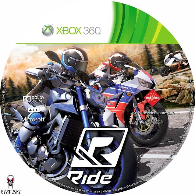 Label Ride Xbox 360