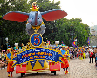 Flights of Fantasy Parade in Hong Kong Disneyland