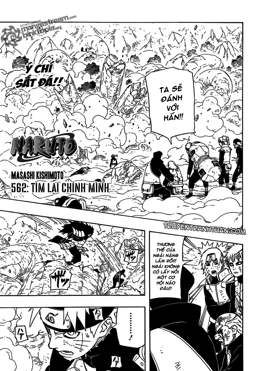 Naruto - Chapter 562 - Pic 1