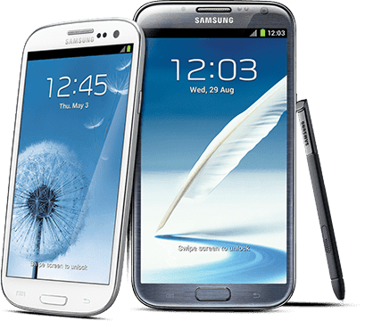 Samsung Galaxy S3 & Note 2