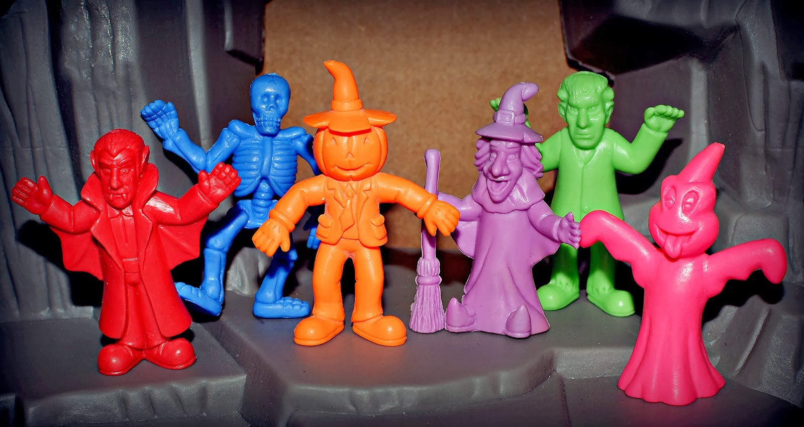 Little Weirdos: Mini figures and other monster toys: The Halloween ...