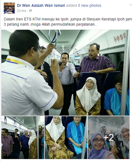 Gambar Dr Wan Azizah Menikmati Nasi Lemak Dalam Tren Dihentam Netizen