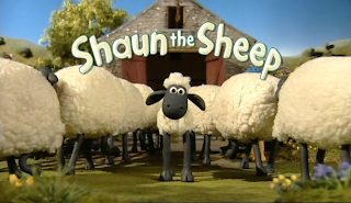 Gambar Kartun animasi shaun the sheep