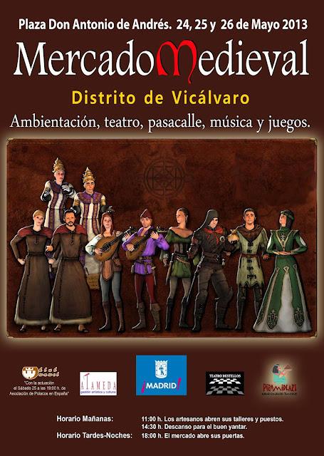 Mercado medieval Vicálvaro 24 a 26 de mayo