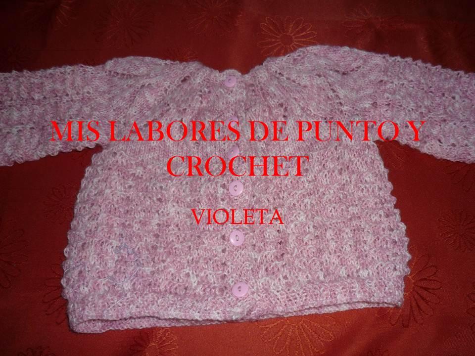 Mis labores de punto y crochet beb - Labores de crochet para bebes ...