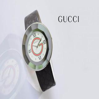 jam tangan keren GUCCI 8004 BROWN
