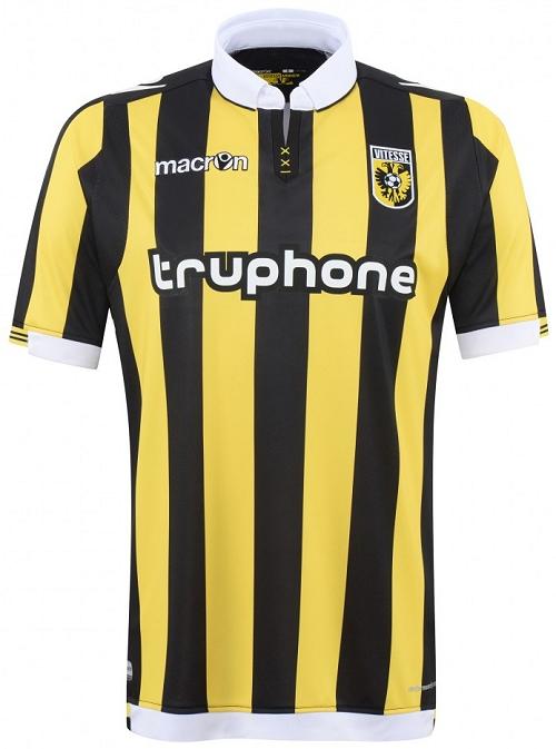 Macron divulga as novas camisas do Vitesse - Show de Camisas 4d3638fb25cef