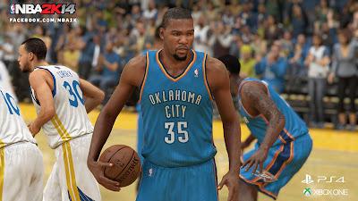 NBA 2K14 Next-Gen Kevin Durant