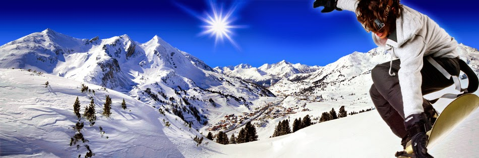 Snowboarding certainly is the most widely used sporting action within this Austrian holiday resort,