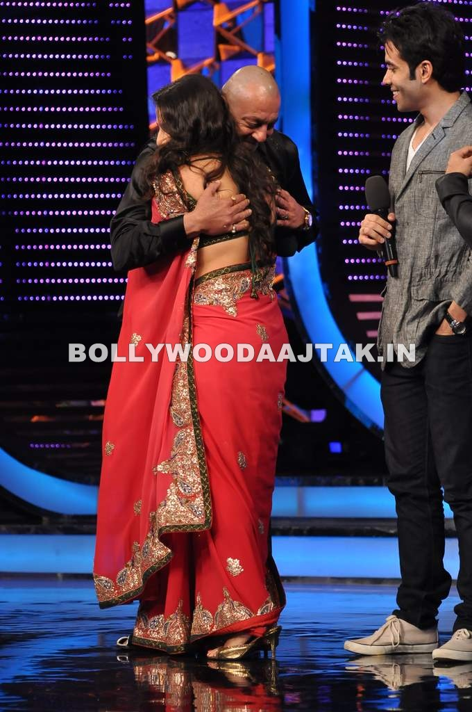 Vidya Balan1 - Vidya Balan on the sets of Big Boss