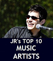 JR's Top 10 Favorite Music Artists