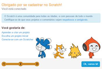 Scratch, linguagem de programação com interface