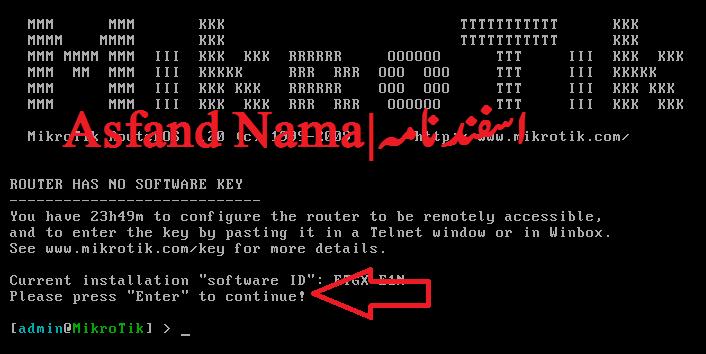 یوزر نیم اور پاسورڈ