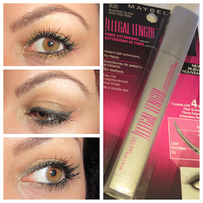 maybelline illegal lengths mascara review