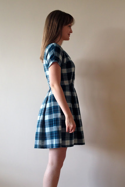 Diary of a Chain Stitcher: Plaid Double Gauze Zeena Dress