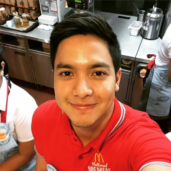 Alden Richards for McDo National Breakfast Day