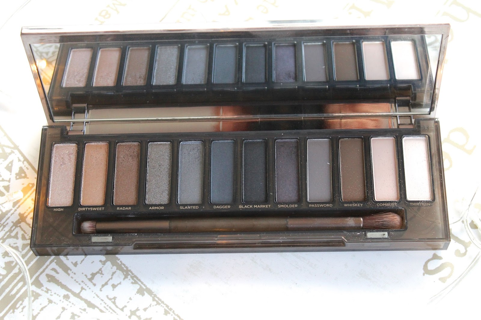 Urban Decay Naked Smoky blog review