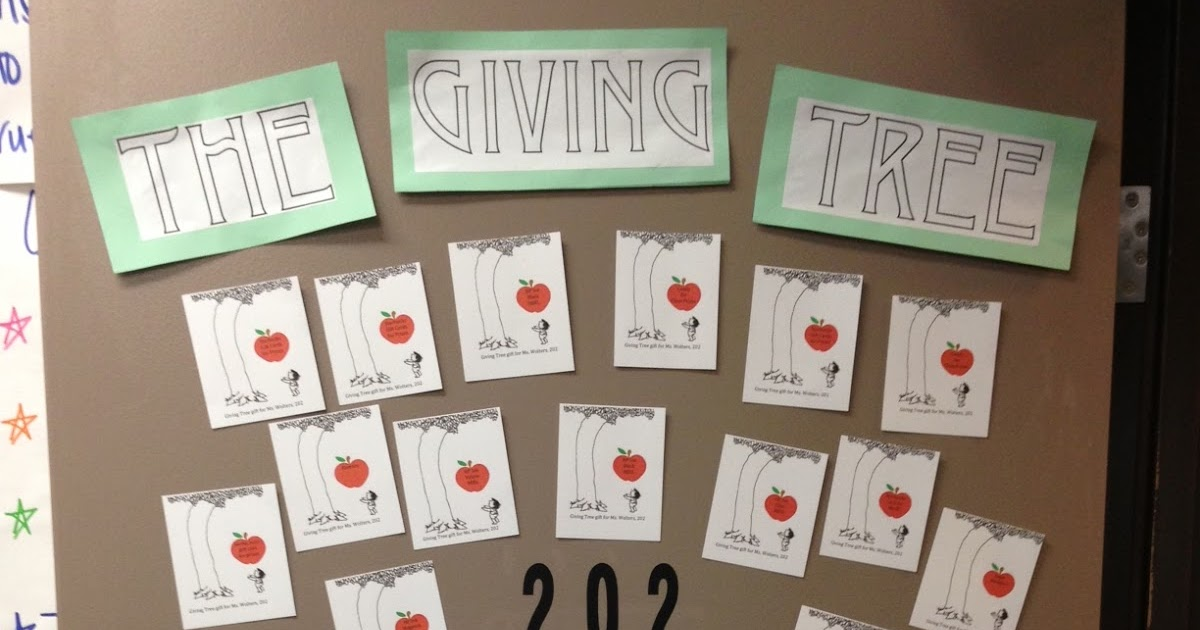 Classroom Giving Tree Ideas ~ Facs classroom ideas giving tree awesome idea