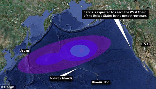 Japon : 25 millions de tonnes de débris à la dérive