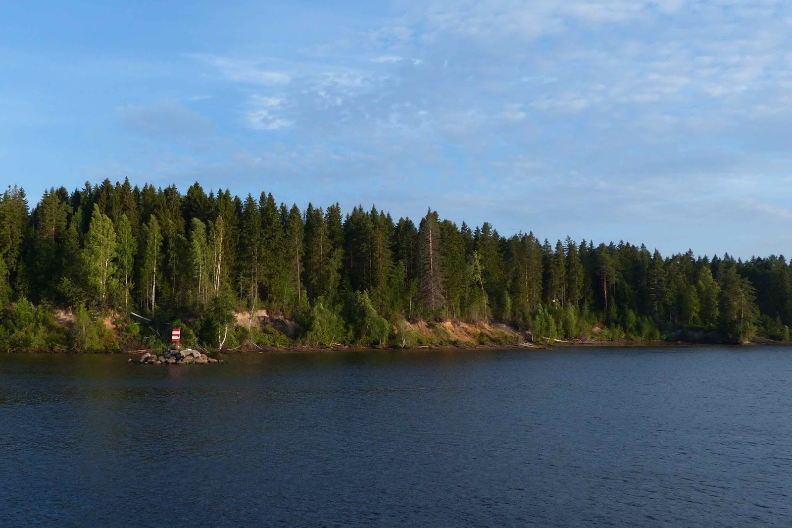 Russian Riverboat Cruise Along The Lakes Rivers And