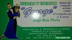 """FIESTAS Y EVENTOS """"george"""""""