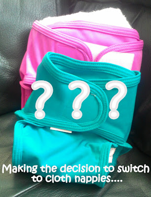 making the decision to switch to cloth nappies