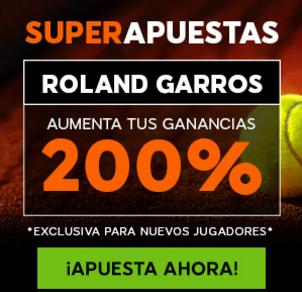 Superapuesta Roland Garros