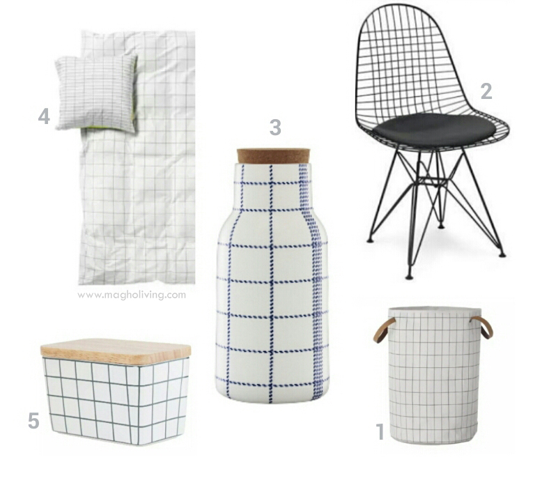 Grid Pattern Magho Living Interior Design Blog Home Decor
