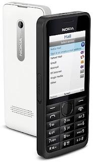 Nokia 301 Ponsel 3G Kamera 3.15 MP Harga Rp 499.000