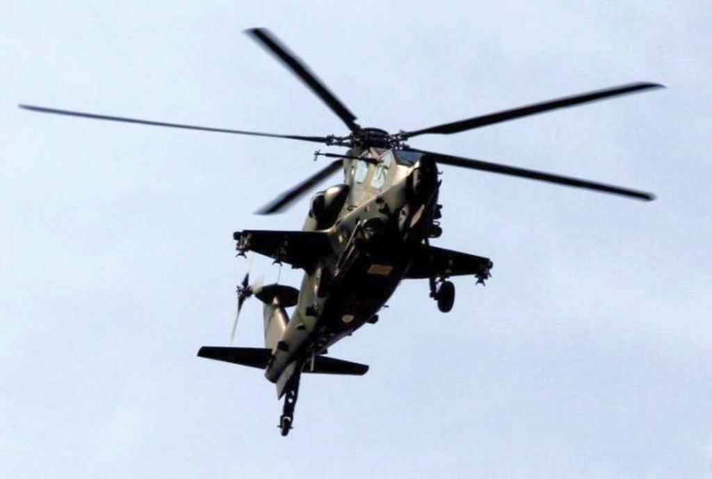 Fighter Jet: Z-10 Helicopter gunship