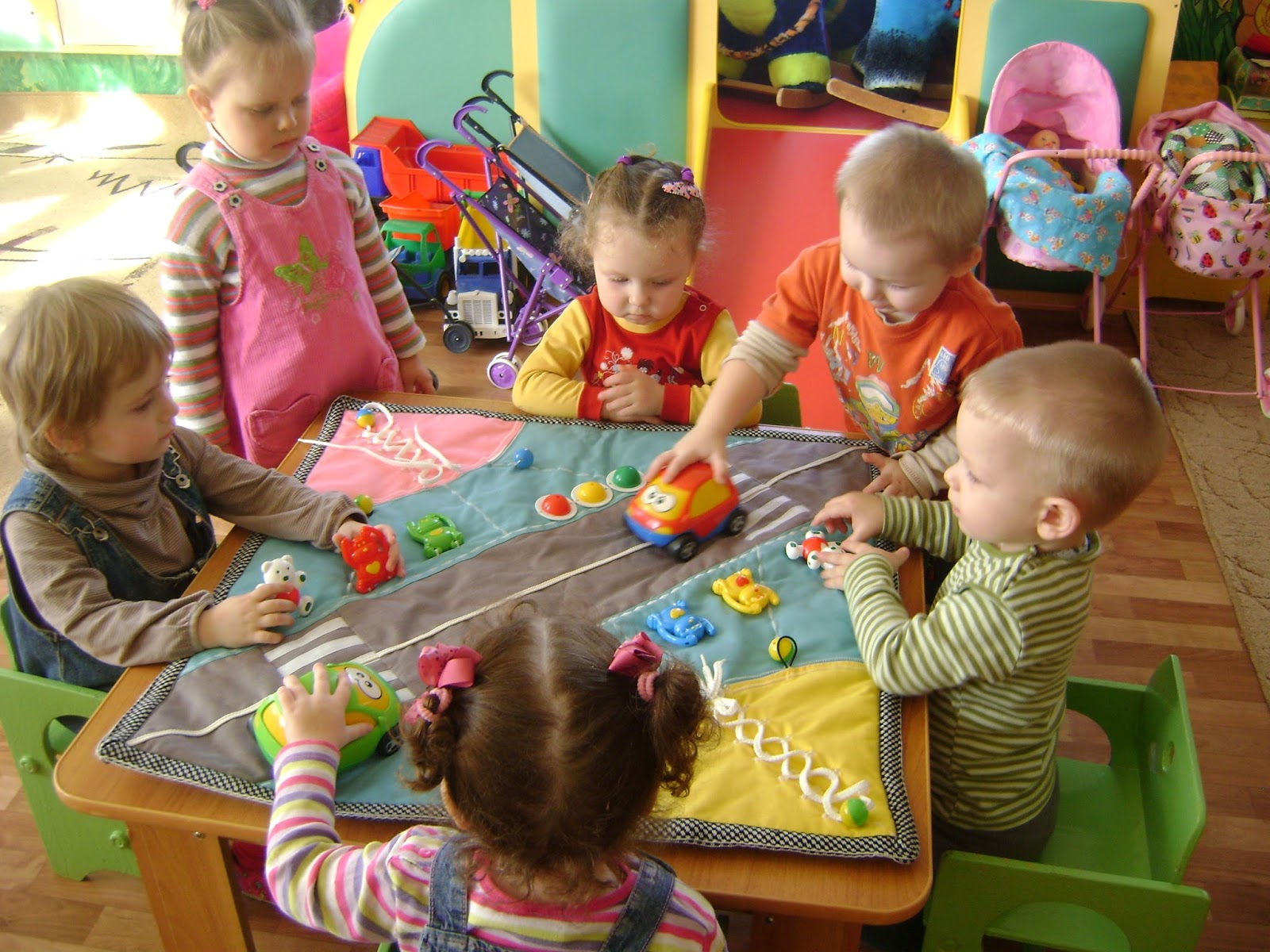 Обучение вязанию детей дошкольного возраста