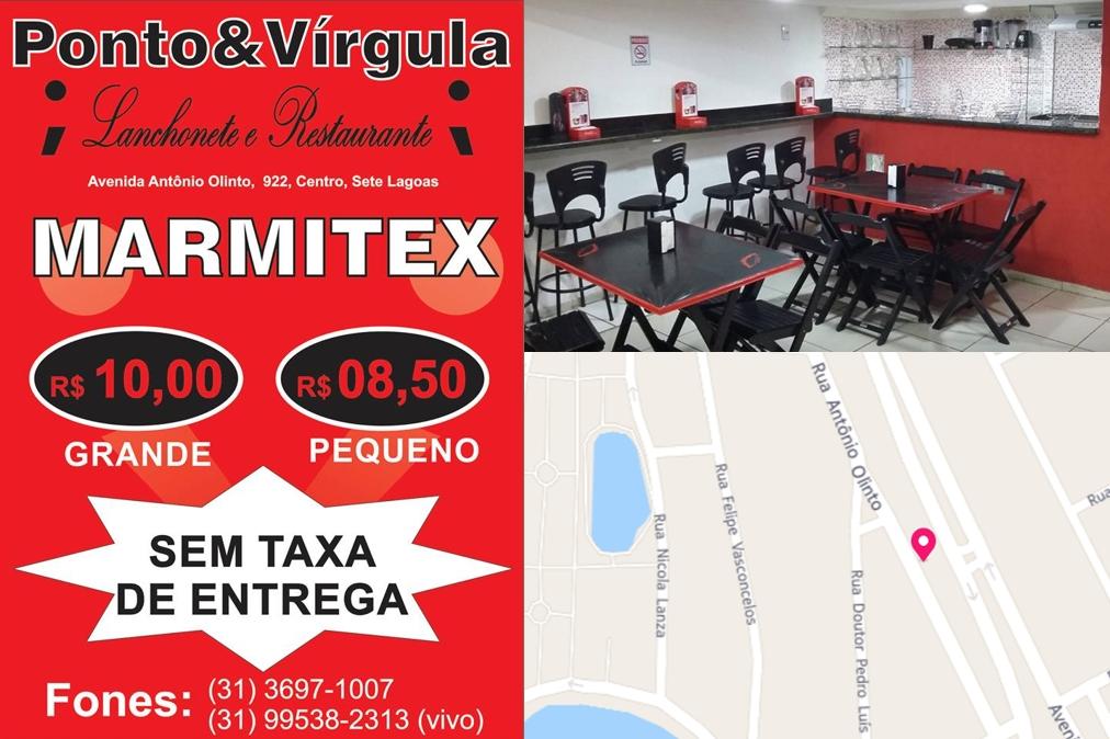 Lanchonete e Restaurante Ponto & Vírgula