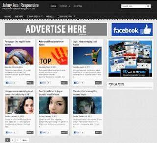 Download 3 Template Blog Responsive