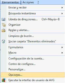 Pedir confirmación de lectura Outlook 2007
