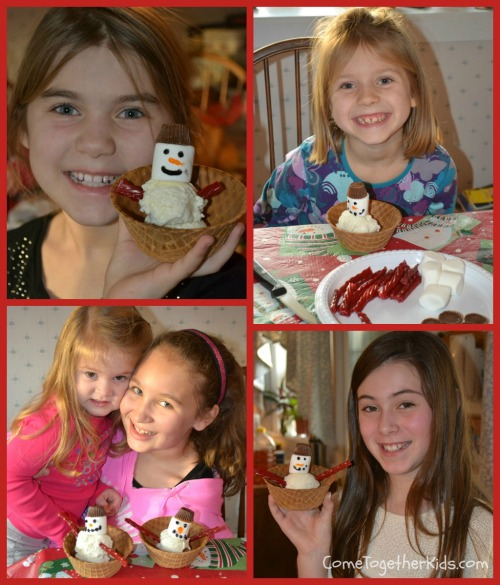 party food, winter party ideas, christmas party ideas, snowman food
