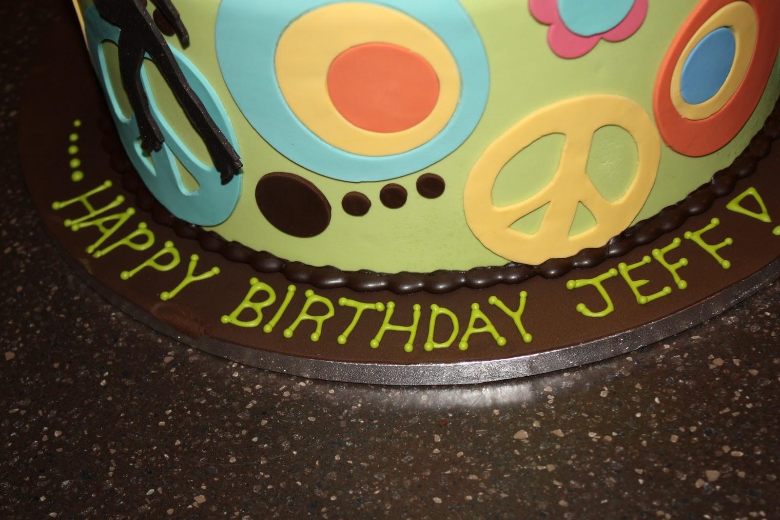 The Good Apple Jeffs 40th Birthday Cake